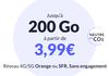 Des forfaits mobiles écolos à partir de 3,99€ par mois et jusqu'à 200 Go sur réseaux Orange et SFR