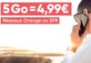 Un forfait mobile ajustable à partir de 4,99 € par mois sur les réseaux Orange et SFR