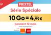 Forfait mobile : l'illimité Prixtel dès 4€99 en promotion pendant 1 an