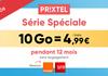 Bon plan : le forfait mobile illimité Prixtel dès 4€99 en promo pendant 12 mois