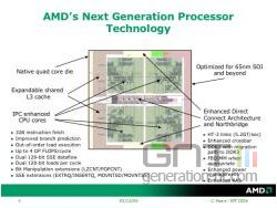 Processeur amd k8l small