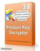 Product Key Decryptor : récupérer les clefs des licences de vos logiciels