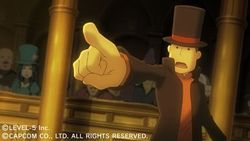 Professeur Layton Vs Ace Attorney - 8