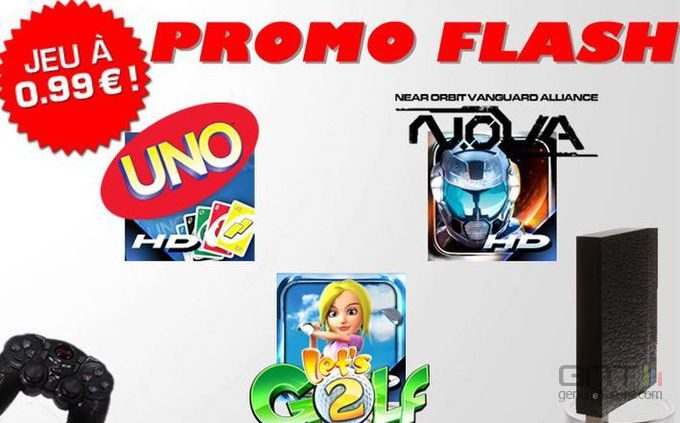 Promos Gameloft Freebox