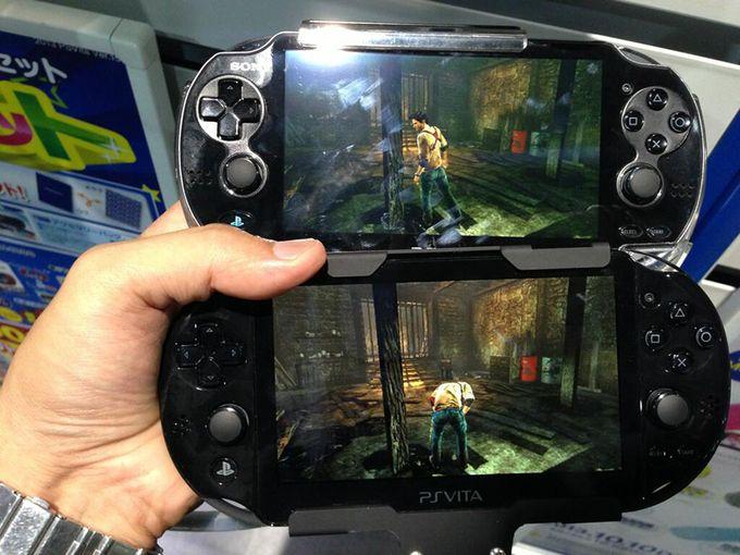 PS Vita - comparatif OLED / LCD - 1