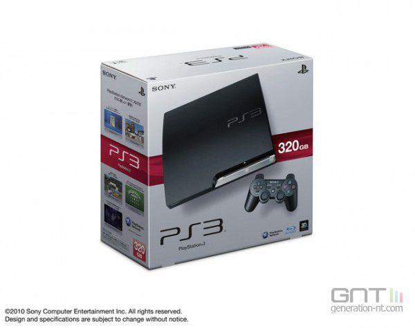 PS3 Slim 320 Go - 1