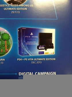 PS4 + PS Vita Ultimate Edition