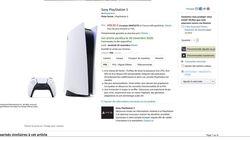 PS5 Amazon prix