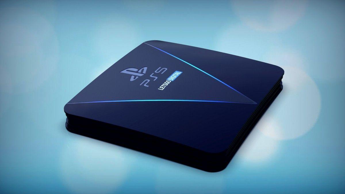 PS5 : un design inédit et une console bien plus grosse que la PS4