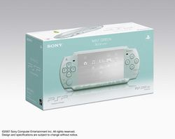 PSP Slim & Lite Mint Green - 5
