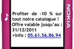 Publicité SMS