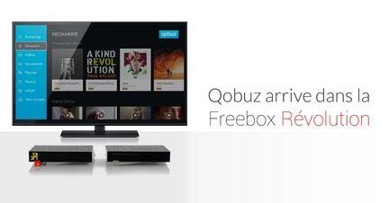 Qobuz freebox revolution
