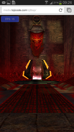 quake chrome webgl