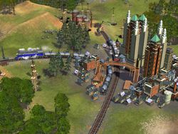 Railroad Tycoon screen 2