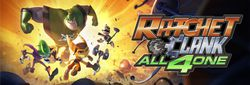Ratchet & Clank : All 4 One - logo