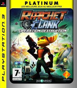 ratchet clank operation destruction platinum