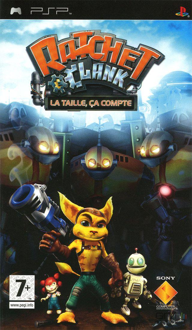 Ratchet & Clank : La Taille Ça Compte - Pochette PAL