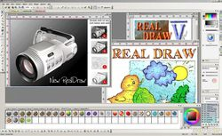 Real Draw Pro screen