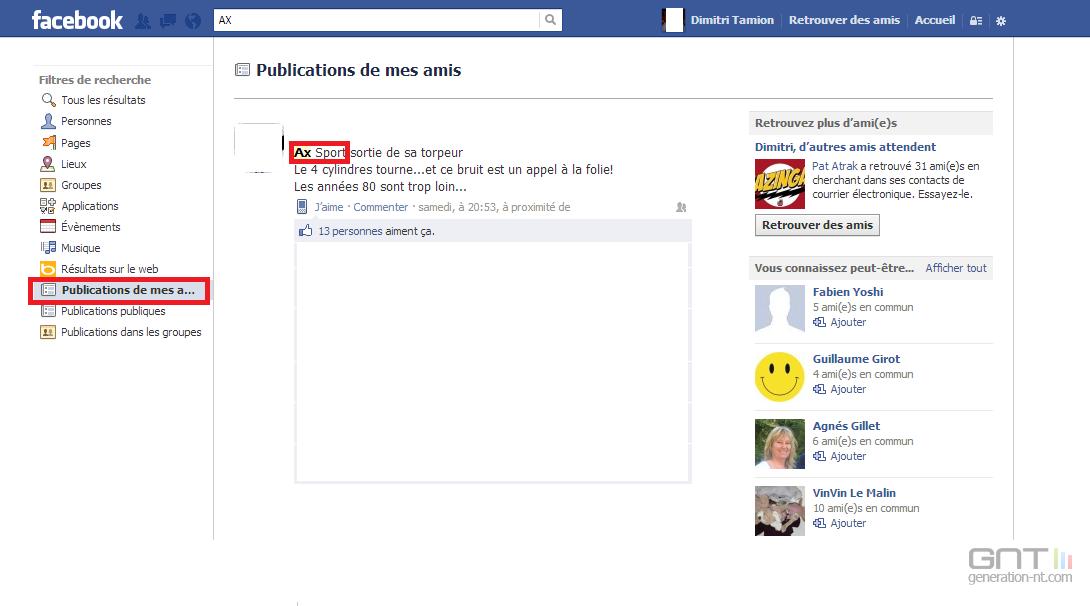 Ami facebook