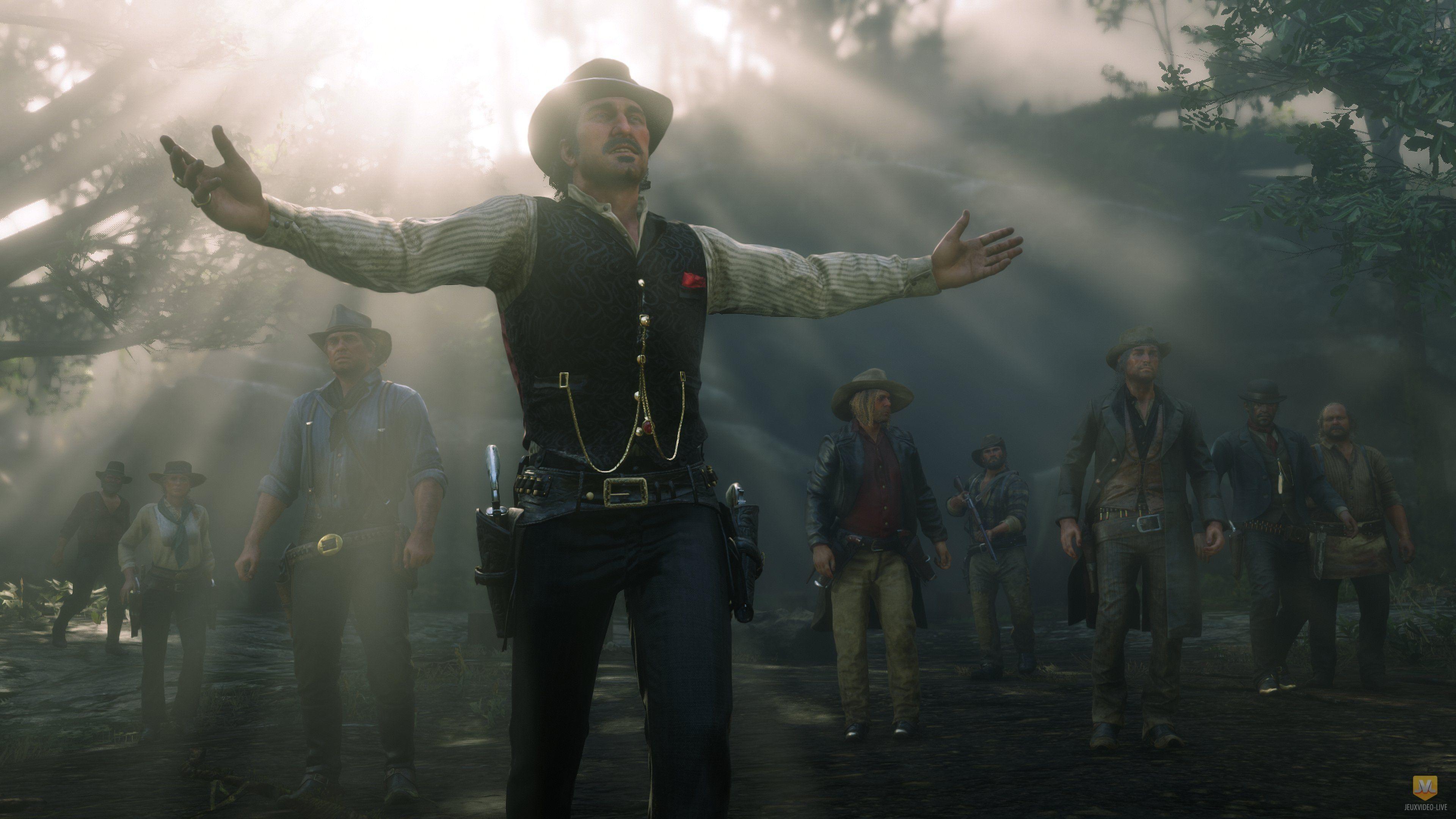 Red Dead Redemption 2  Exclusivit Temporaire, Multi Et Poids-9677