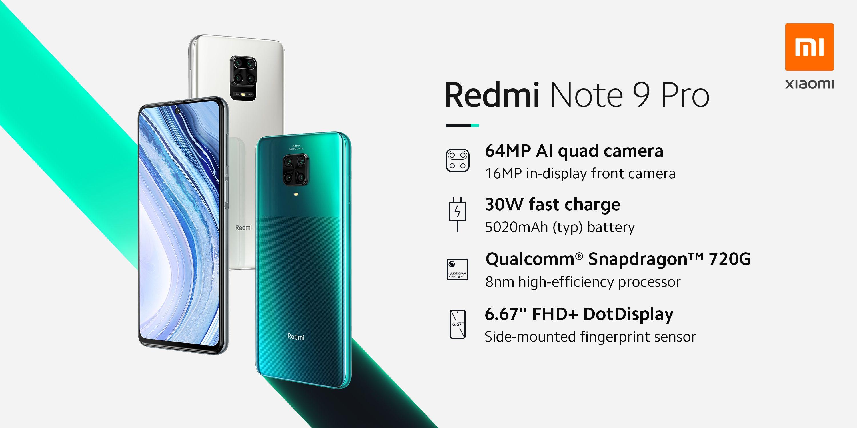 Un Redmi Note 9 Pro à 196 € seulement, mais aussi notre sélection du jour ! (Galaxy Tab S6, Huawei P30 ..)