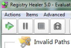 Registry Healer : nettoyer la base de registres