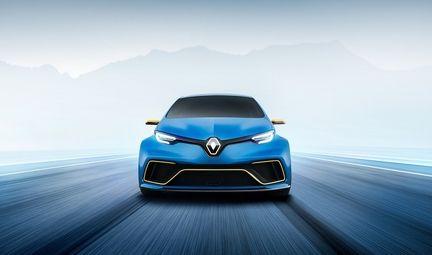 Renault Zoe eSport Concept avant