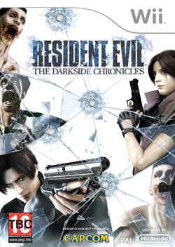 Resident Evil : The Darkside Chronicles - pochette