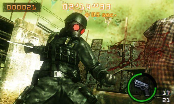 Resident Evil : The Mercenaries 3D - 4