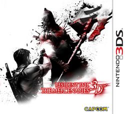 Resident Evil The Mercenaries 3D - pochette