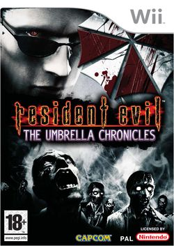 Resident evil the umbrella chronicles packshot