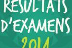 Résultats 2014 Bac Brevet