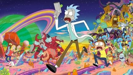 Rick & Morty.