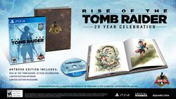 Rise of the Tomb Raider 20eme Anniversaire - edition limitee