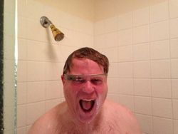 Robert Scoble douche Google Glass