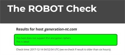 Robot check
