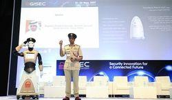 Robot policier Dubai