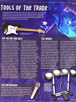 Rock band scan