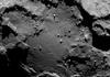 Voici à quoi ressemble la surface d'une comète