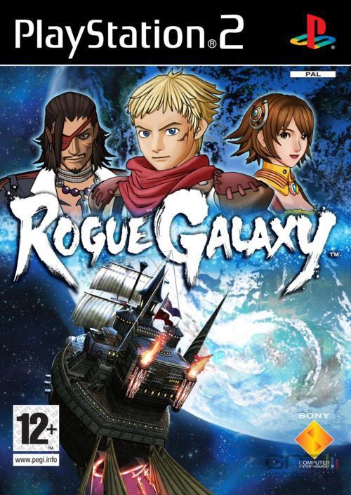 Rogue Galaxy - Pochette PAL