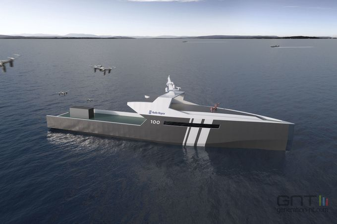 Rolls-Royce navire autonome