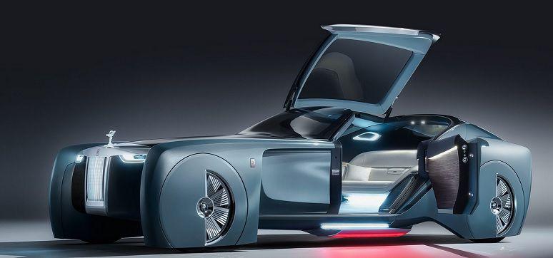 rolls royce vision next 100 un concept audacieux de la voiture autonome de luxe d 39 apr s demain. Black Bedroom Furniture Sets. Home Design Ideas