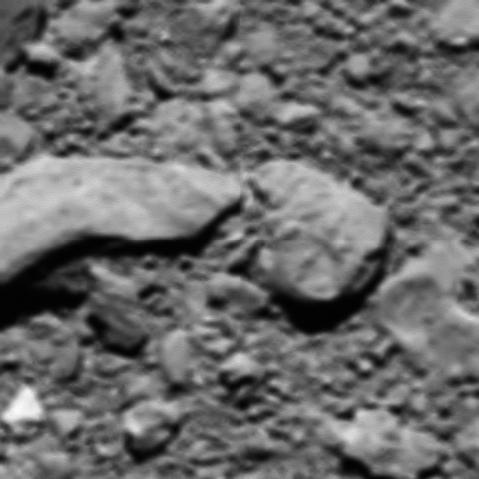Voici la dernière image envoyée par Rosetta avant de s'écraser sur Tchouri