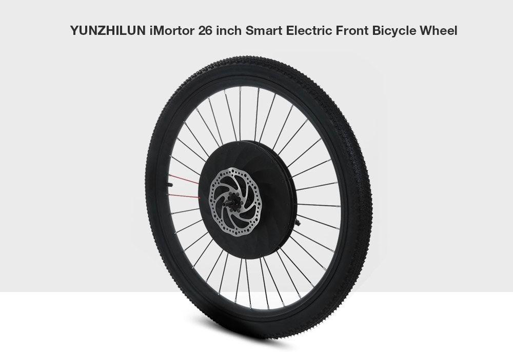 Bon Plan : la roue avant électrique pour transformer votre vélo en vélo électrique, mais aussi...