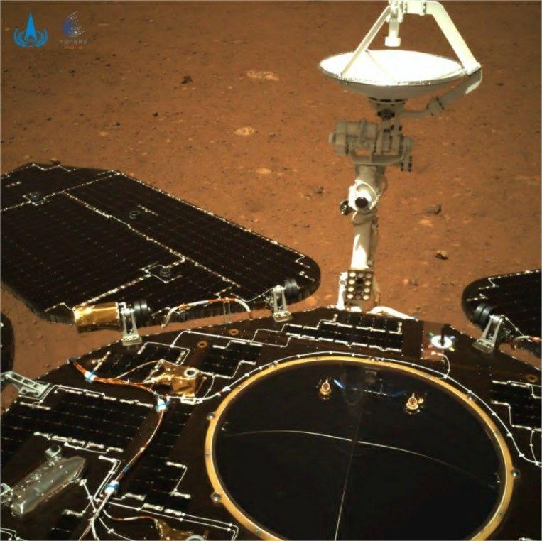 Rover chine Mars 2