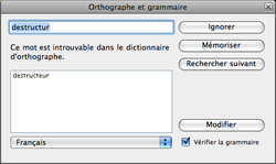 Safari 3 correcteur