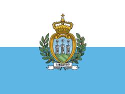 Saint Marin drapeau