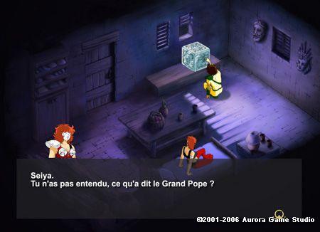 Saint Seiya RPG scan 2