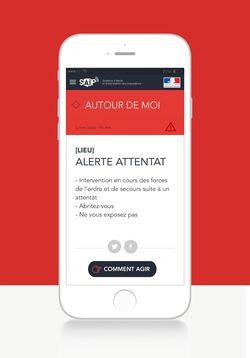 SAIP application attentat