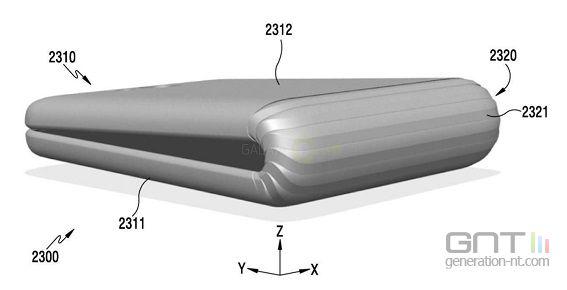 Samsung Galaxy X brevet